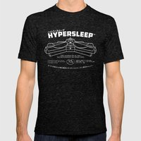 Hypersleep Mens Fitted Tee Tri-Black SMALL