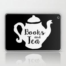 Books And Tea - Inverted Laptop & iPad Skin