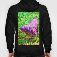 Hen On Grass Hoody