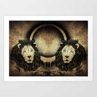 Ring Of Fire Art Print