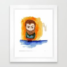 Redbeard Framed Art Print