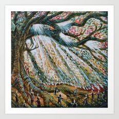 The Children's Tree Of Life #1 Art Print