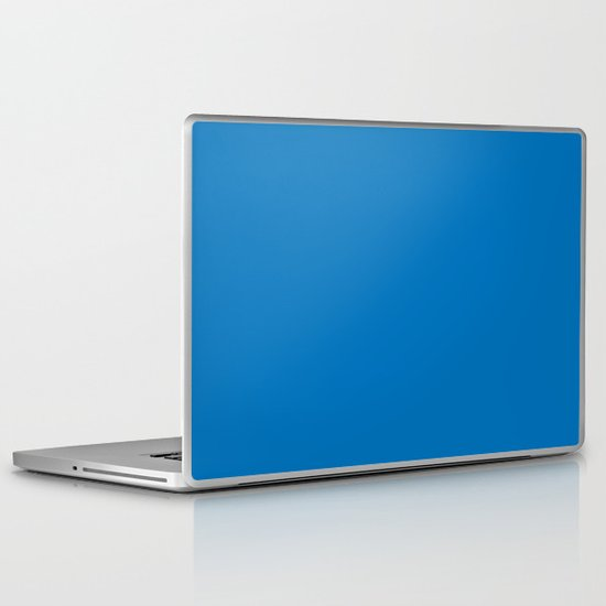 French blue Laptop & iPad Skin