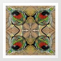 Gorgona Art Print