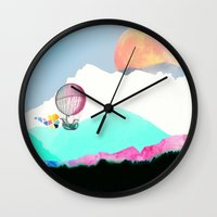 Magic Moon Wall Clock