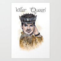 Killer Queen Art Print