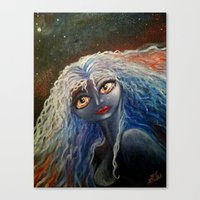 The Star Angel Canvas Print
