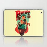 Roller Girl  Laptop & iPad Skin