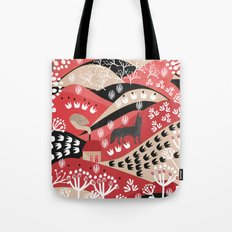 Wolf's Promise Land Tote Bag