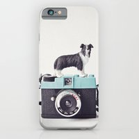 iPhone & iPod Case featuring The Collie and The Diana by Susannah Tucker