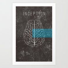 Inception Movie Poster Art Print