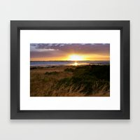 Coorong 1 Framed Art Print
