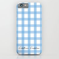 Indigo Gingham iPhone 6 Slim Case