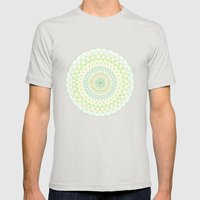 Spring Sun Mens Fitted Tee Silver SMALL