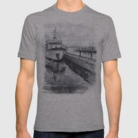 Kirkland Marina Waterfro… Mens Fitted Tee Athletic Grey SMALL