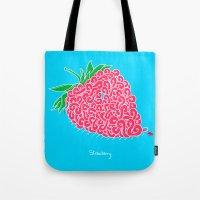 Strawberry. Tote Bag