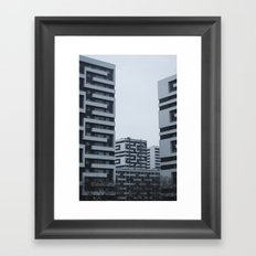 Archi-something Framed Art Print
