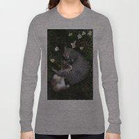 Sleep [A CAT AND A KITTEN] Long Sleeve T-shirt