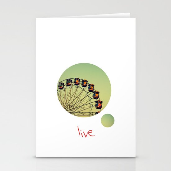 Live Stationery Card