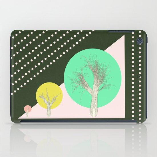 In my world forests are geometric iPad Case