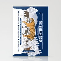 The Wild Ones: Siberian Tiger (info) Stationery Cards