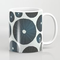 Sea's Design - Urchin Skeleton (Black) Mug