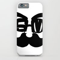 iPhone & iPod Case featuring moustach' by benjamin chaubard