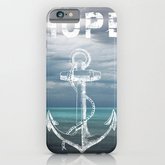 Hope Anchor iPhone & iPod Case