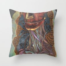 Ghost In the Shell Throw Pillow