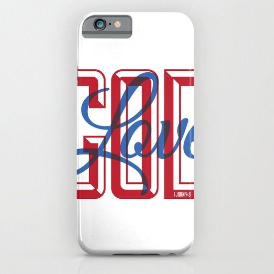 God is Love iPhone & iPod Case