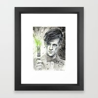 Doctor Who: The 11th Doc… Framed Art Print