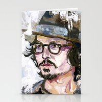 Johnny Depp Stationery Cards