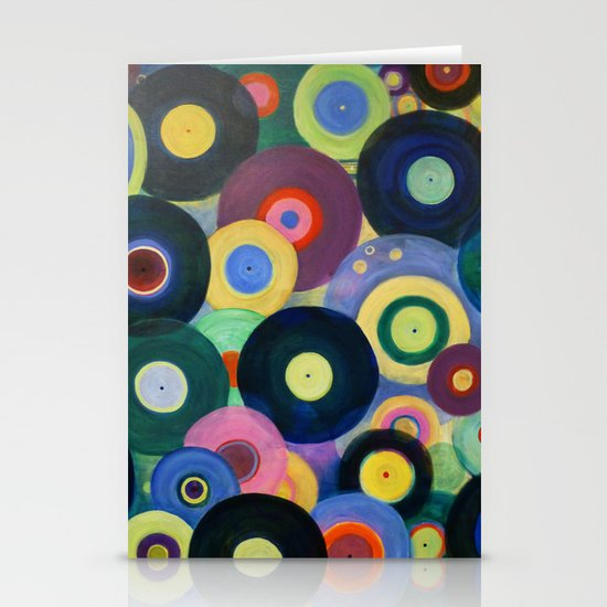 Record High Stationery Card