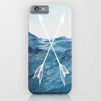 iPhone & iPod Case featuring Deep sea arrows by Beckah Carney Photography