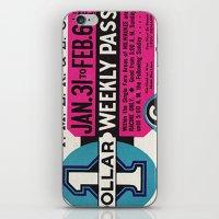 Vintage Ticket iPhone & iPod Skin