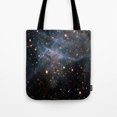 Mystic Mountain Nebula Tote Bag