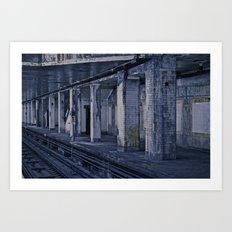 Empty Station Art Print