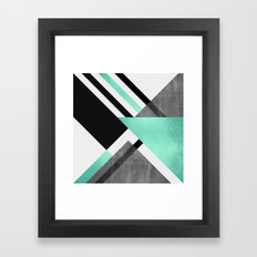 Foldings Framed Art Print
