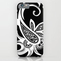 Paisley: Black and White Slim Case iPhone 6s