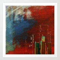 Death Of Detriot - Skyli… Art Print