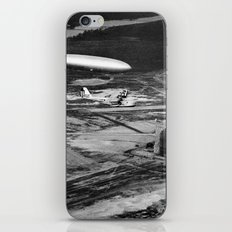 Zeppelin arrival over New Jersey iPhone & iPod Skin