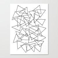 Shapes 014 Canvas Print