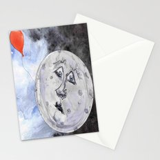 Moon and the Balloon Stationery Cards