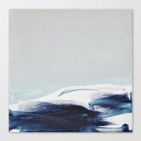 BRUSH STROKES I Canvas Print