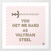 Valyrian Steel Art Print