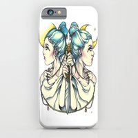 iPhone & iPod Case featuring Gemini by Lindsay Tebeck