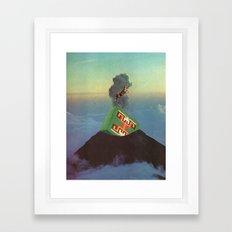 holy mountain Framed Art Print