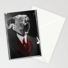 Koala Yawn Stationery Cards