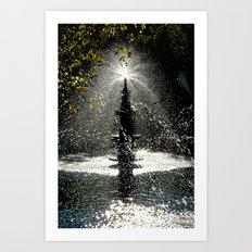 Tears of Zeliha Art Print