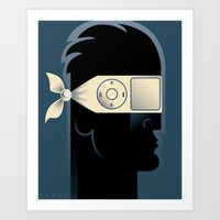 IGnore Art Print